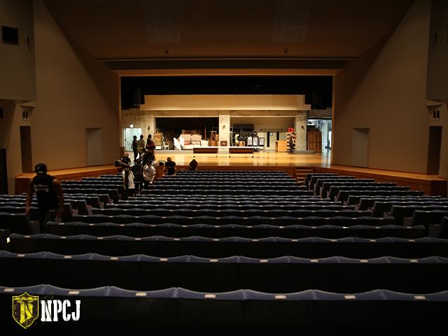 江戸川区総合文化センター ホール内観