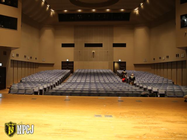 江戸川区総合文化センター ステージ