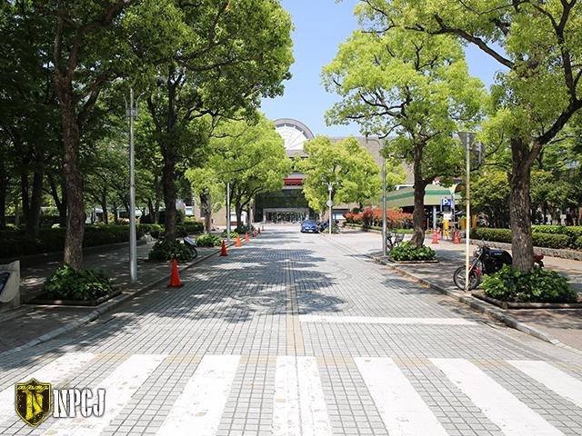江戸川区総合文化センター前