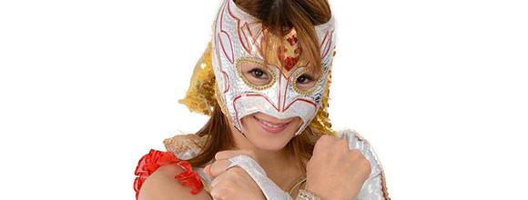 覆面女子プロレスラーRay選手が、5/31(日)Blaze OPENに出場決定。