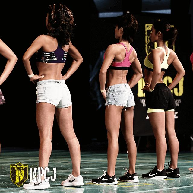 Women's Fitness model