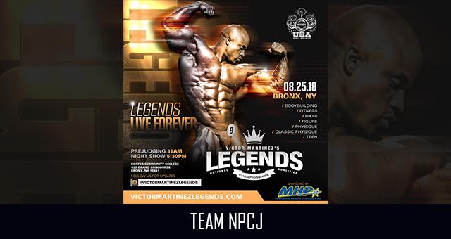 Victor Martinez's Legends Championships に向けて Team NPCJ Japanを結成します