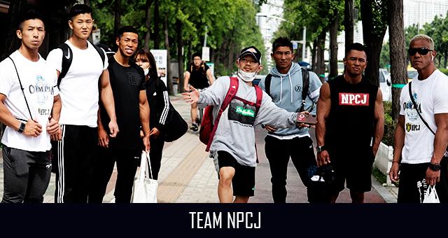 Team NPCJ – Olympia Amateur AGP に出場中、更新はインスタが早い。