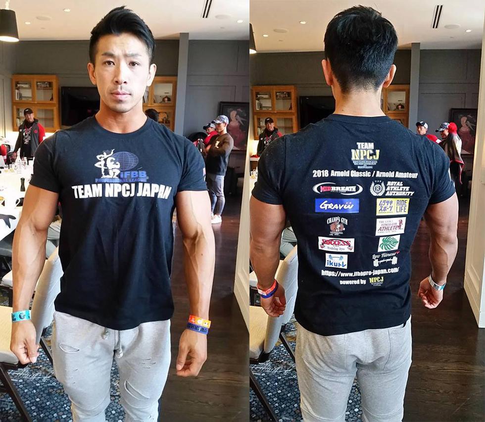 NPCJ-Tシャツ