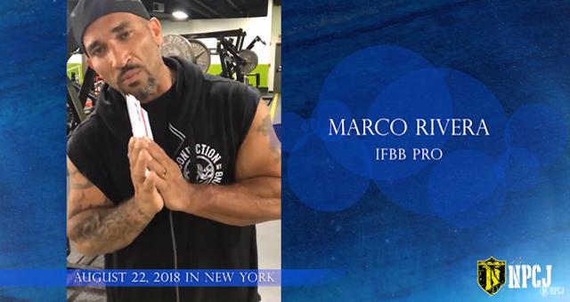 Marco Rivera から支援募金に関してコメントを頂きました。