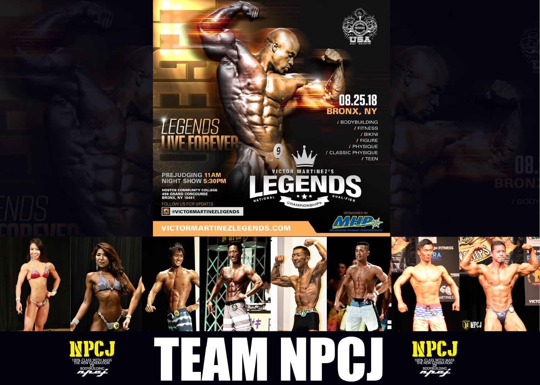 Victor Martinez's LegendsChapmpionships – Team NPCJ Japan