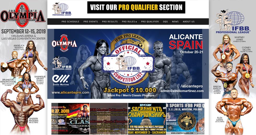 IFBB-Professional-League-サイトイメージ