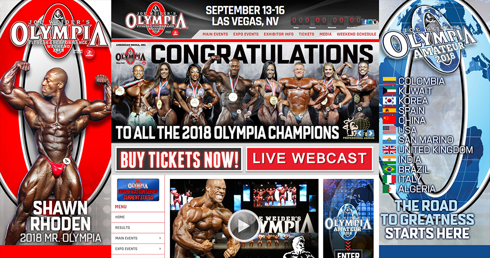 Mr. Olympia Web image