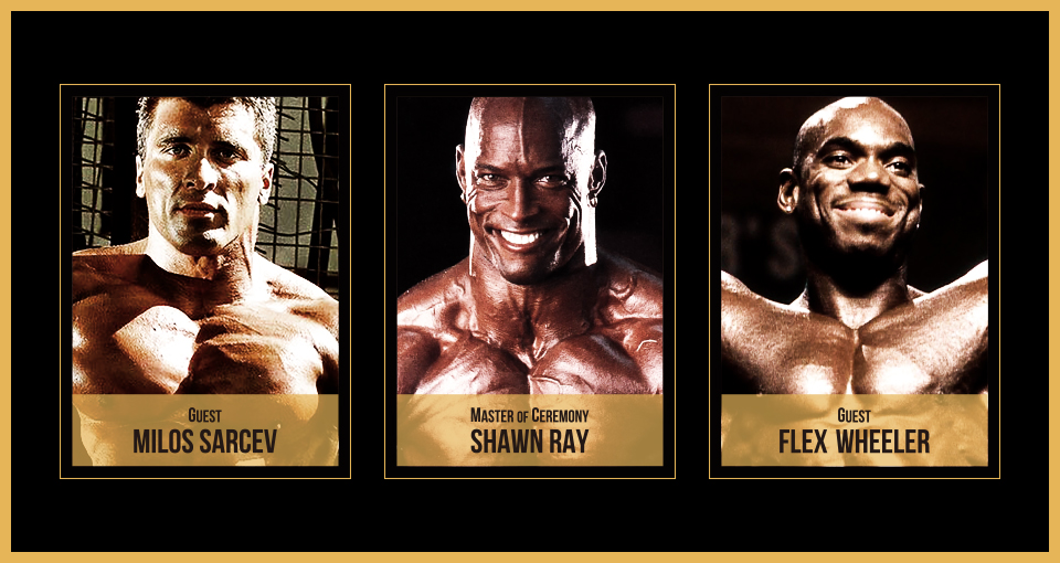 NPCJ Fitness Expo 内に、Milos Sarcev・Shawn Ray・Flex Wheeler が登場するぞ!