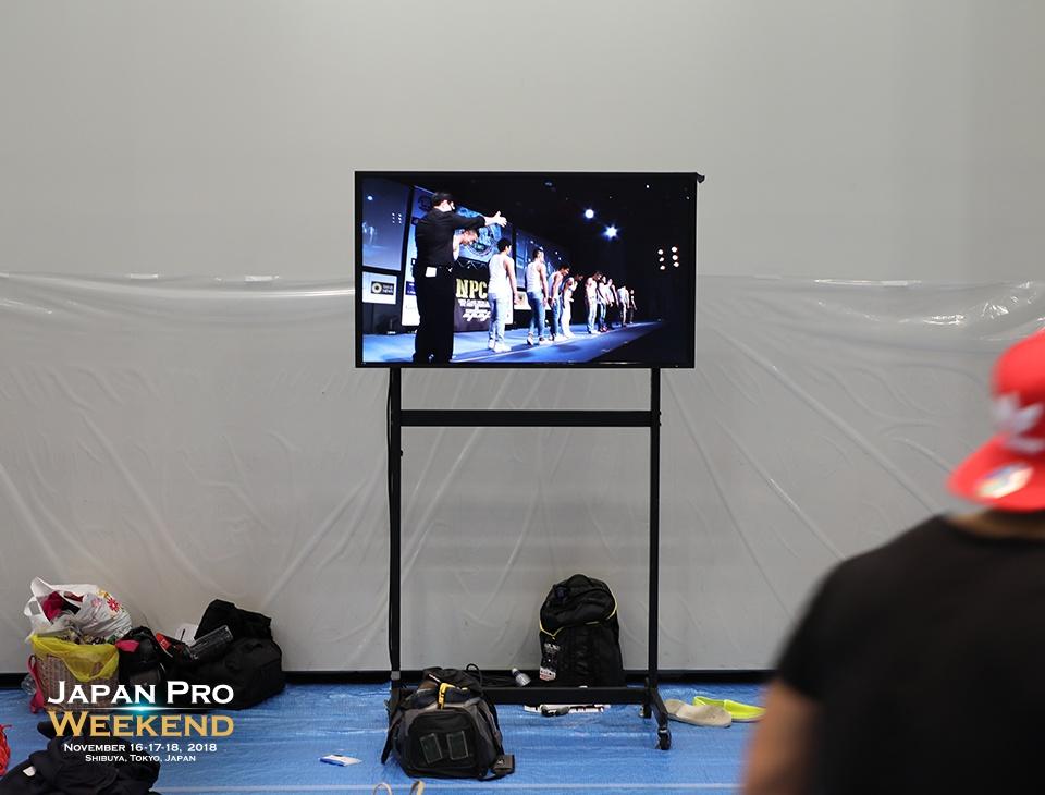 選手控室映像